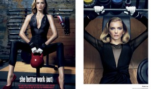 V Magazine. She Better Work (Out)
