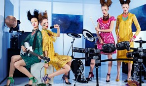 Vogue Nippon. Girls in the Band