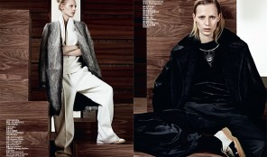 Vogue China. Simple Sporty Furs