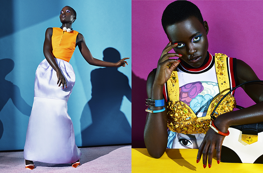 Dazed and Confused. Lupita Nyong'o x3