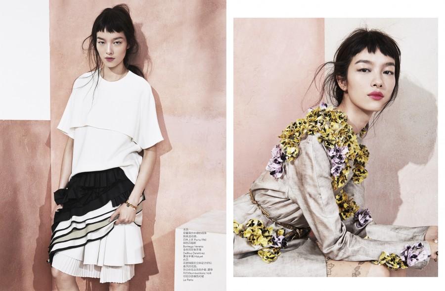 Vogue China. Modern Romance x2