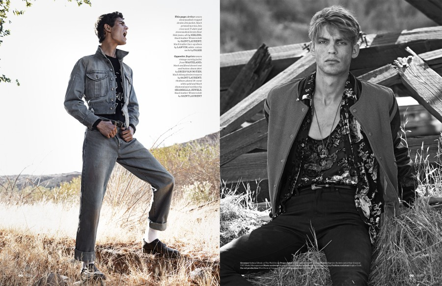 GQ Style – Kings of the Wild Frontier