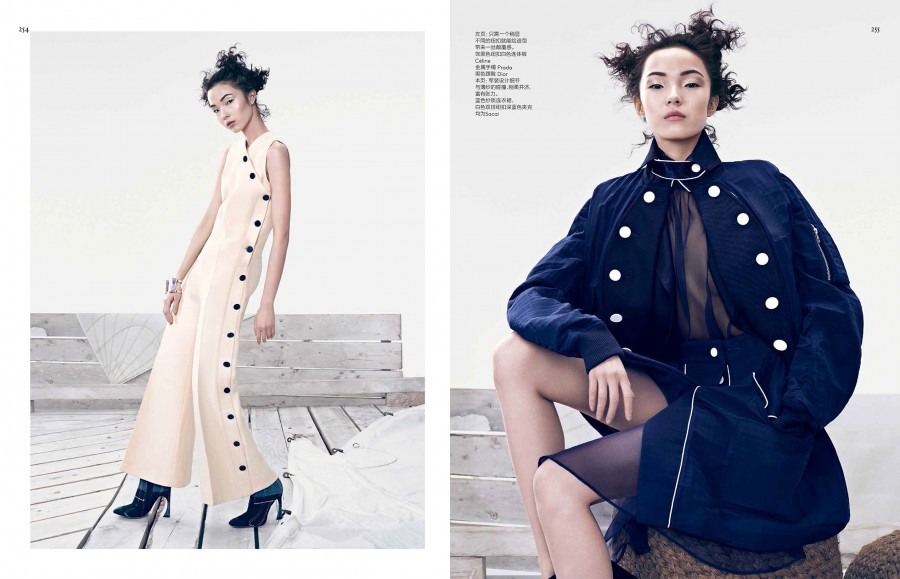 Vogue China. Naval Outlook x3