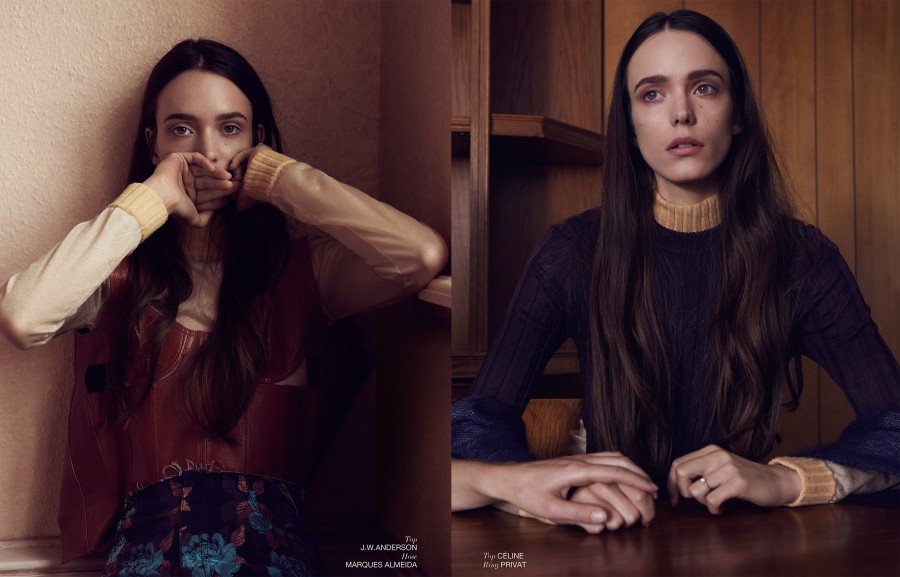 Interview Germany. Stacy Martin x2
