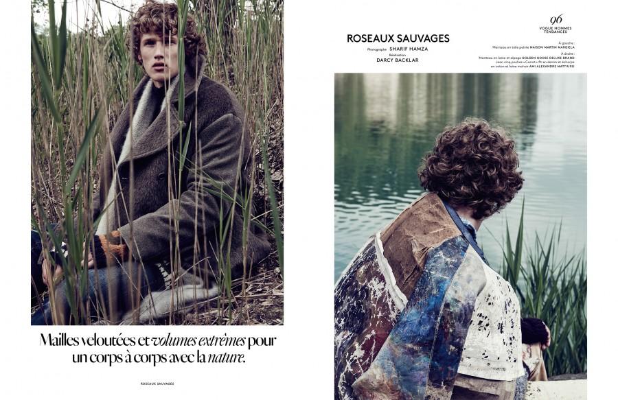 Vogue Homme. Roseaux Sauvages x3
