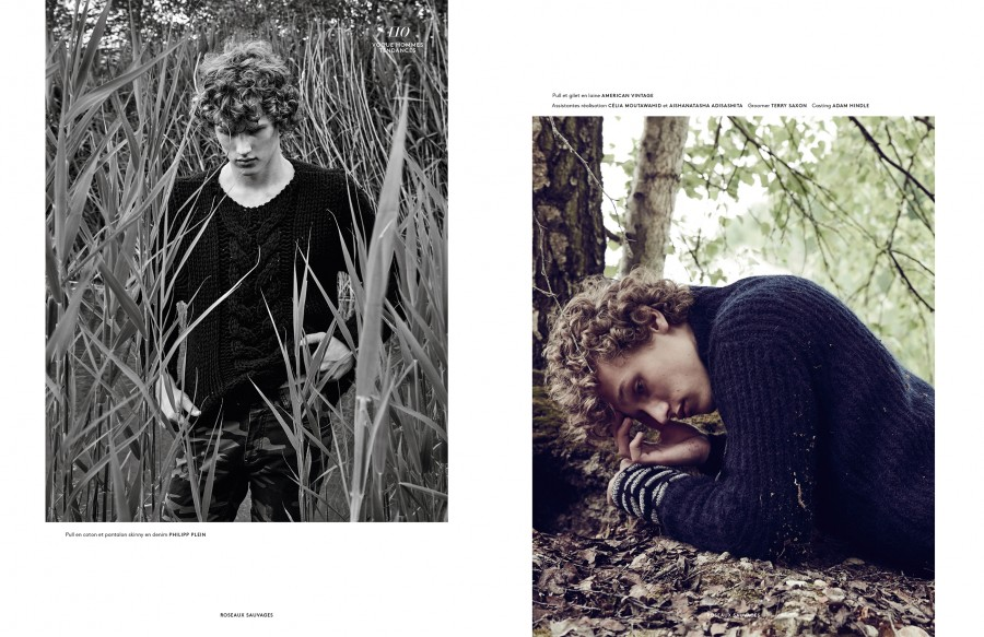 Vogue Homme. Roseaux Sauvages x2