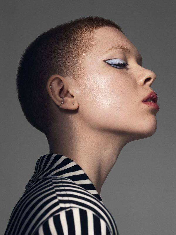 Vogue Japan Beauty. Makeup by Jen Myles