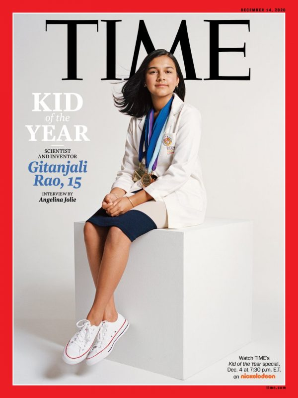 Time. Kid of the Year. Gitanjali Rao