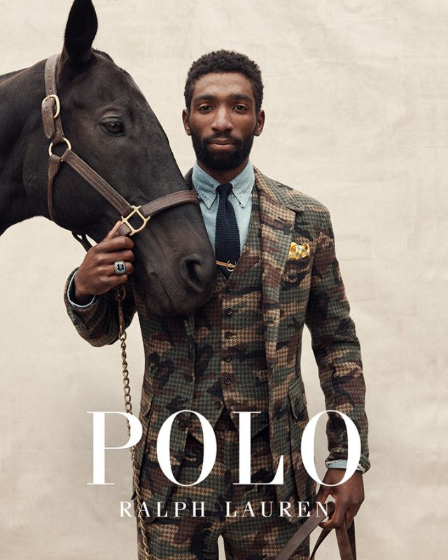 Ralph Lauren Polo. Work to Ride
